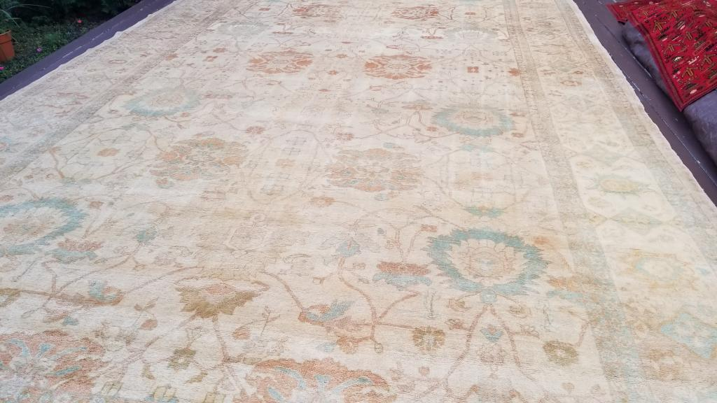silk rug stain removal